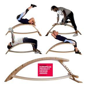 #SedovikoABS1 — скамья для прогибов випарита дандасана, растяжки спины, йоги, фитнеса, жима гантелей, гимнастическая лавка-бэкбендер