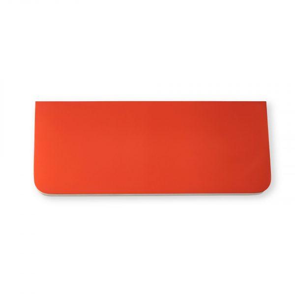Полочка Sedoviko СSS1, разноцветные, двухсторонние: морковный, береза, итальянский лак.